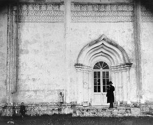 Северный портал Звенигородского Успенского собора Московской губернии. [По Каталогу Барщевского N 706].  1882-1896 годы