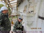Процесс реставрации белокаменных капетелей