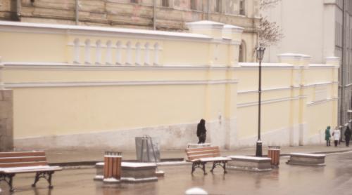 Завершено проведение противоаварийных и реставрационных работ на части ограды московского Иоанно-Предтеченского женского монастыря, выходящей на улицу Забелина.